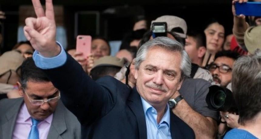Alberto Fernández, presidente electo en primera vuelta