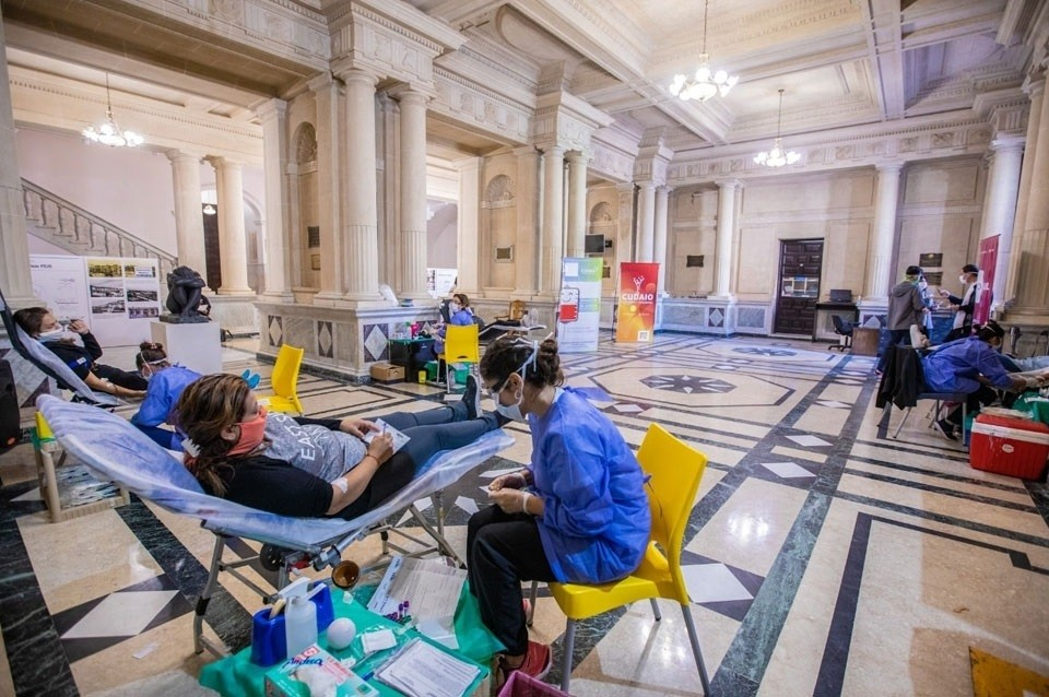 Cuarta jornada de donación de sangre en el Rectorado de la UNL