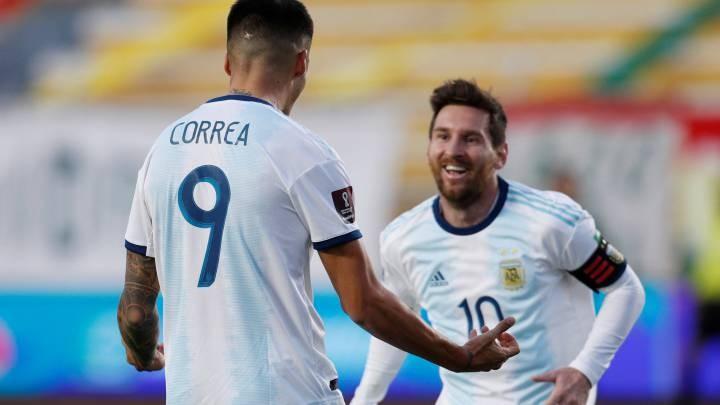 Argentina venció a Bolivia y ganó en La Paz después de 15 años