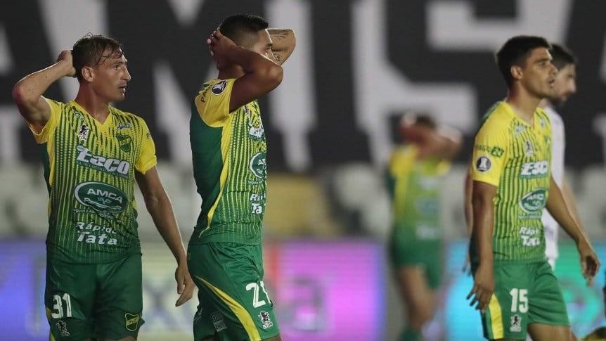 Defensa y Justicia perdió con Santos y quedó afuera de la Copa Libertadores