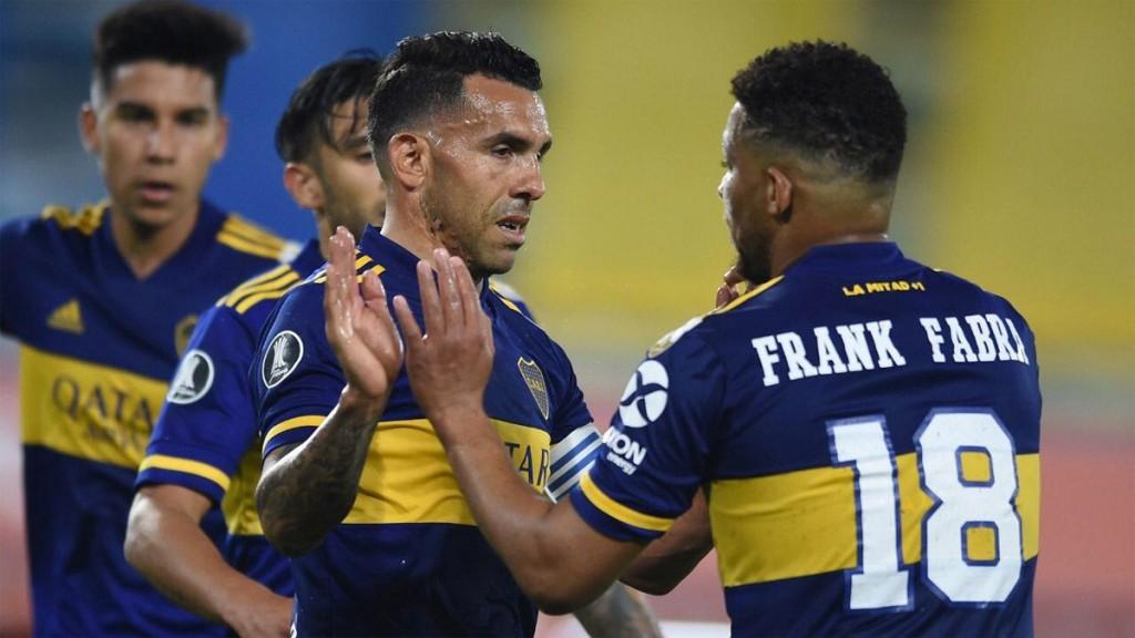 Boca goleó a Caracas y tomó envión antes de octavos