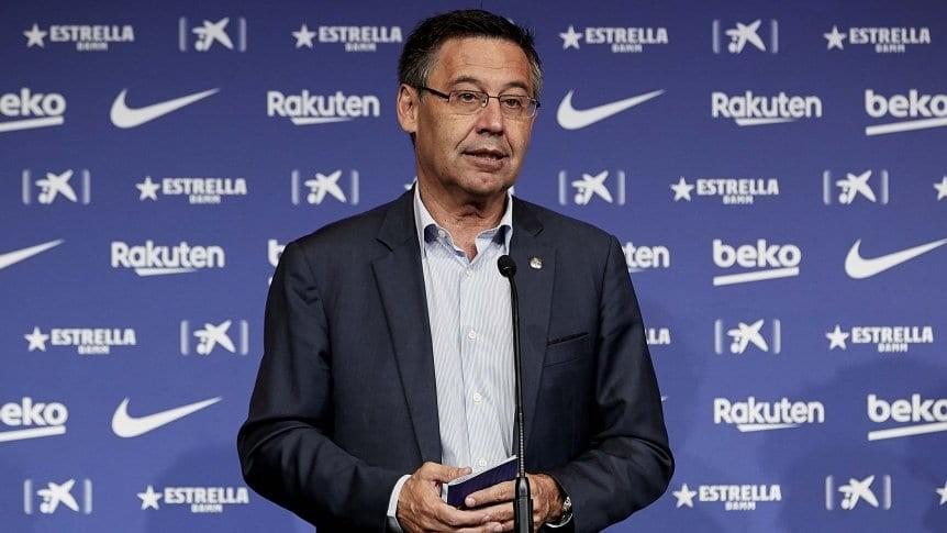 Josep María Bartomeu presentó su renuncia