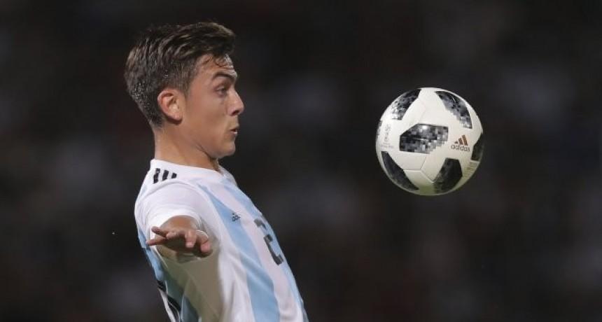 Dybala quedó desafectado para el partido de la selección con Bolivia