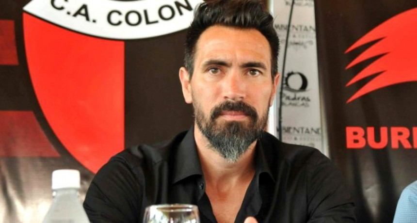 Eduardo Domínguez habló por primera vez desde que volvió a Colón