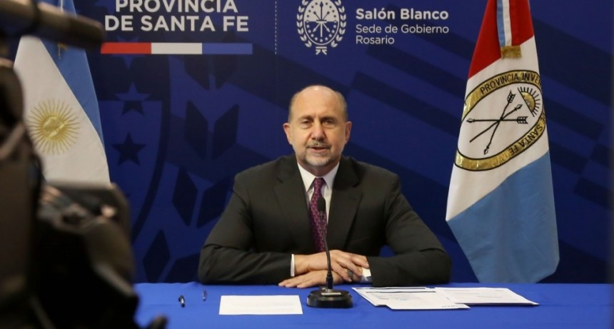 Perotti participó del anuncio de la primera etapa del Acueducto Santa Fe – Córdoba