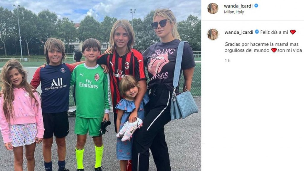 La foto que compartió Wanda Nara tras su separación con Icardi