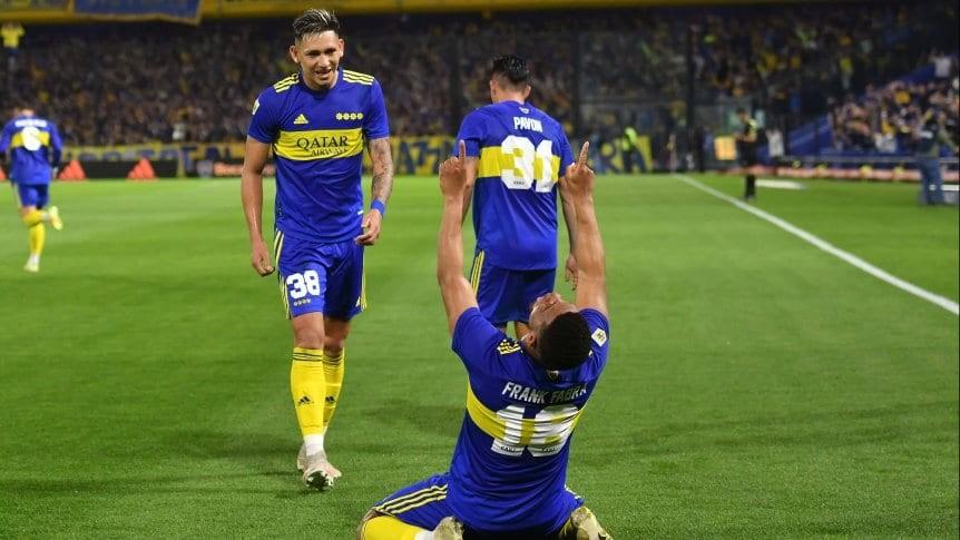 Liga Profesional: Boca reaccionó ante Godoy Cruz y sigue prendido