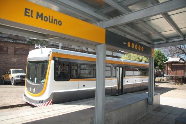 El miércoles comenzarán las pruebas del tren urbano