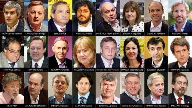 Presentaron parte del gabinete de Mauricio Macri
