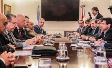 Antonio Bonfatti encabezó una reunión del Comité Operativo Interministerial en Casa de Gobierno