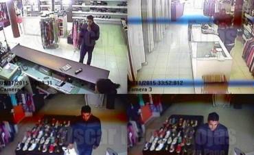 A punta de pistola, robaron un local de indumentaria