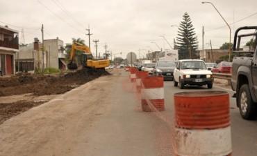 Metrofe: las obras en Blas Parera marchan dentro de los plazos previstos