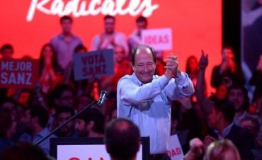 Ernesto Sanz no formará parte del Gabinete y dejará la conducción de la UCR