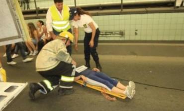 Realizarán un simulacro de accidente vial en el Túnel Subfluvial