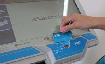 SUBE: Breve guía para saber cómo y dónde cargar la tarjeta