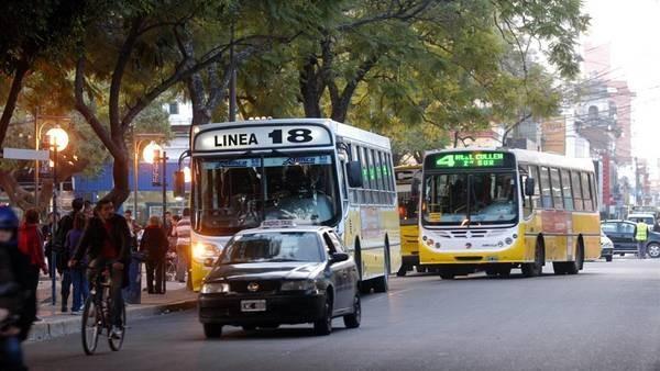 Transporte público: desvíos de colectivos y cambio de paradas por trabajos de pavimentación