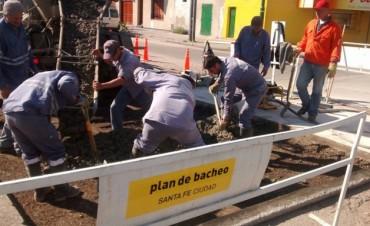 Programa de Reconstrucción: trabajos de bacheo previstos para este jueves