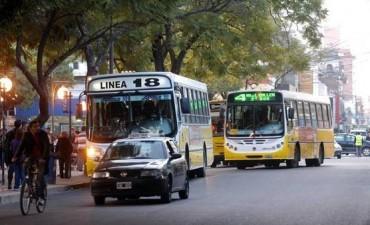 Transporte público: desvíos de colectivos y cambio de paradas por trabajos en calle 9 de Julio