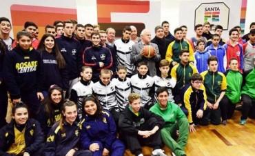 Se presenta la Copa Santa Fe de básquet