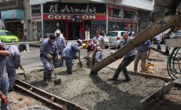 Programa de Reconstrucción: continúan los trabajos de bacheo en la ciudad
