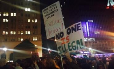 Segunda noche de marchas anti-Trump al grito de