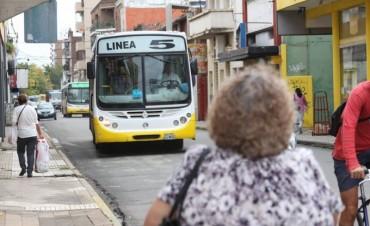Transporte público: desvíos de colectivos por trabajos en la ciudad