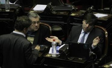 Bossio calificó de hipócritas a los diputados de La Cámpora