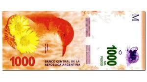 En diciembre comenzarán a circular los billetes de mil pesos