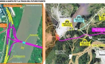 Licitarán el Puente a Paraná en 2018