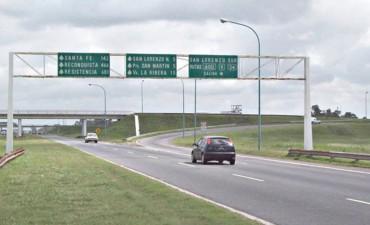 Licitaron el bacheo de la Autopista Santa Fe Rosario