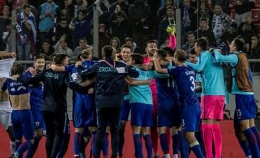Croacia clasificó al Mundial y solo faltan cuatro países