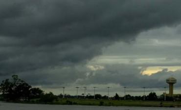 Rige un alerta por vientos fuertes con ráfagas para Santa Fe