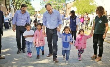Barrio San Lorenzo cuenta con más calles pavimentadas