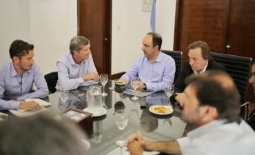José Corral y Sergio Varisco se reunieron por el anteproyecto del Aeropuerto Metropolitano
