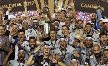 Gremio derrotó a Lanús y se consagró campeón de la Copa Libertadores