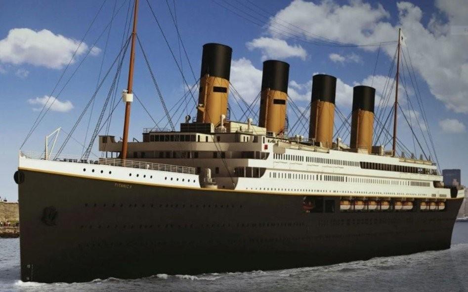 Un nuevo Titanic zarpará en 2022