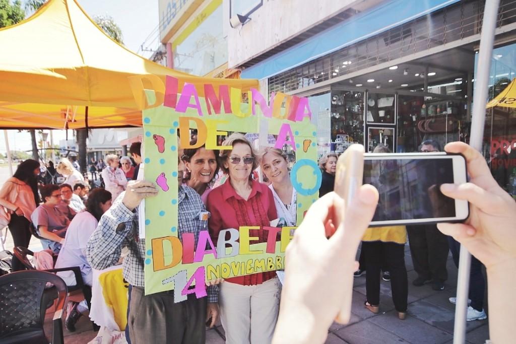 El Municipio realizó controles y encuestas en el Día Mundial de la Diabetes