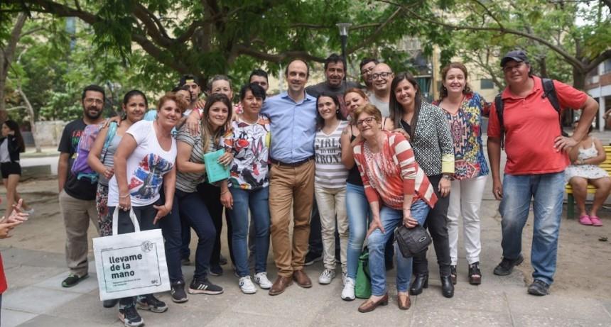 Se realizó una intervención integral en espacios públicos en barrio El Pozo