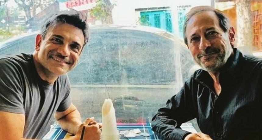 Pepe Argento volvió a charlar con Dardo Fuseneco
