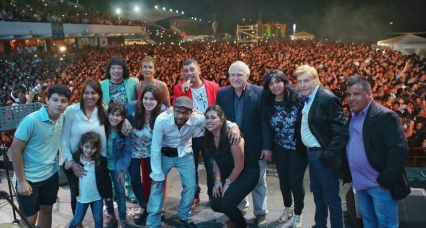 Lifschitz participó de la 3° edición de la Fiesta Nacional de la Cumbia Santafesina
