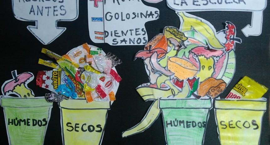 """La Escuela Falucho es una de las finalistas del concurso nacional """"Fruteá tu escuela"""""""