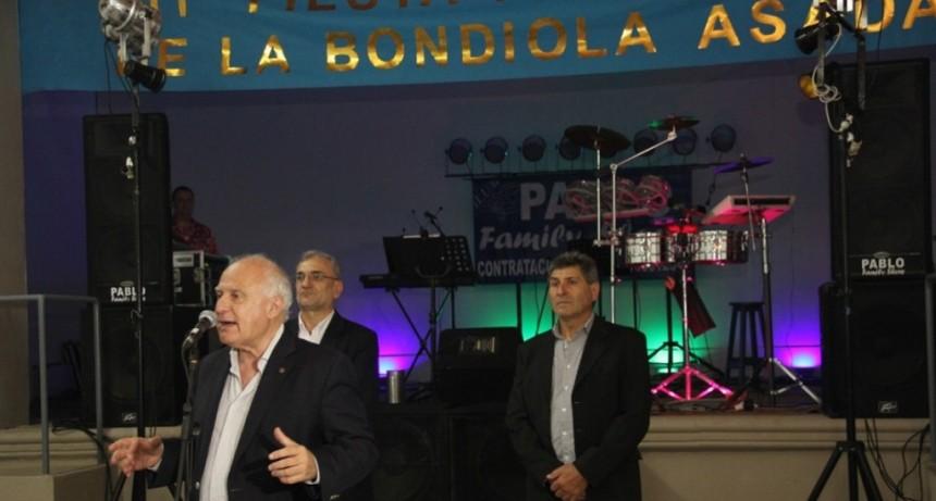 Lifschitz participó de la 11° Fiesta de la Bondiola a la Parrilla en Coronel Fraga
