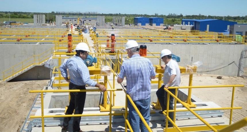 Avanza a buen ritmo la construcción de la planta potabilizadora del acueducto Reconquista