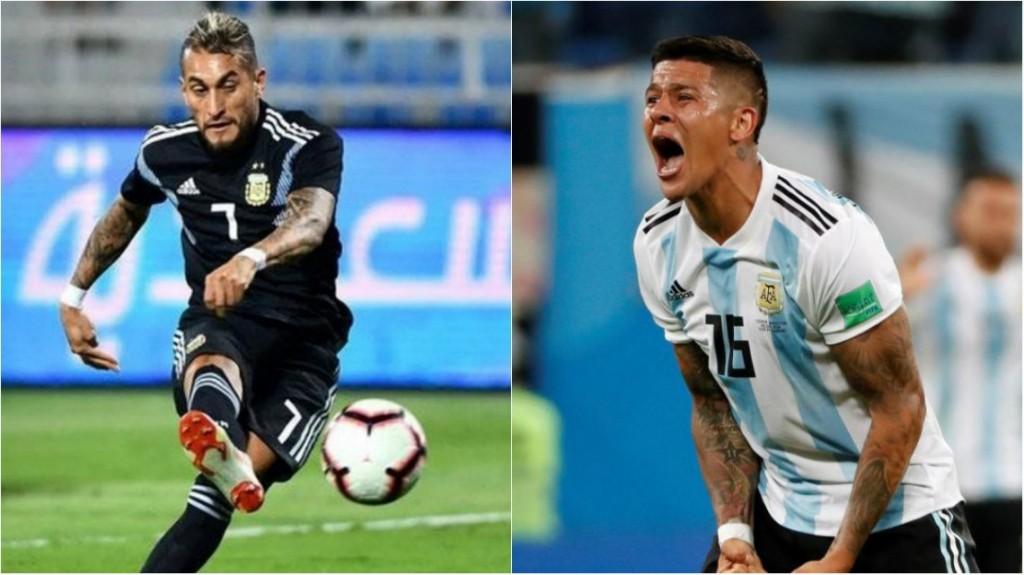 Dos bajas en la Selección antes de los amistosos con Brasil y Uruguay