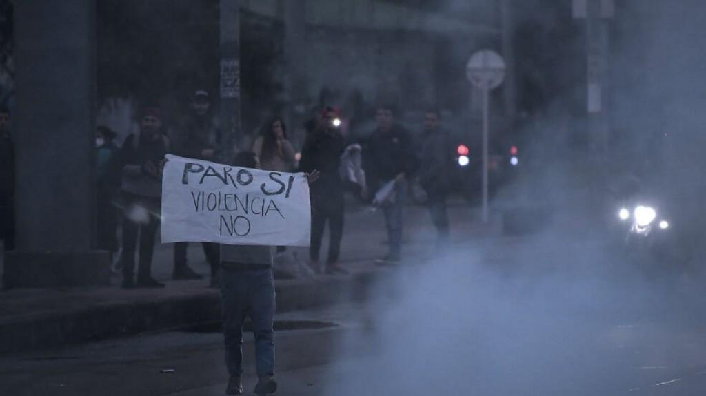 Conmoción en Colombia por la muerte de un estudiante herido en las protestas