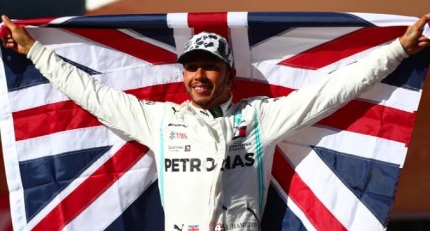 Lewis Hamilton se consagró campeón de la Fórmula 1