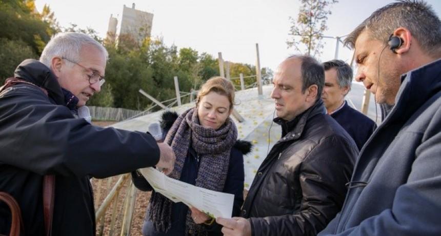 """Corral: """"Este vínculo con Francia es un legado que dejamos a la ciudad"""""""