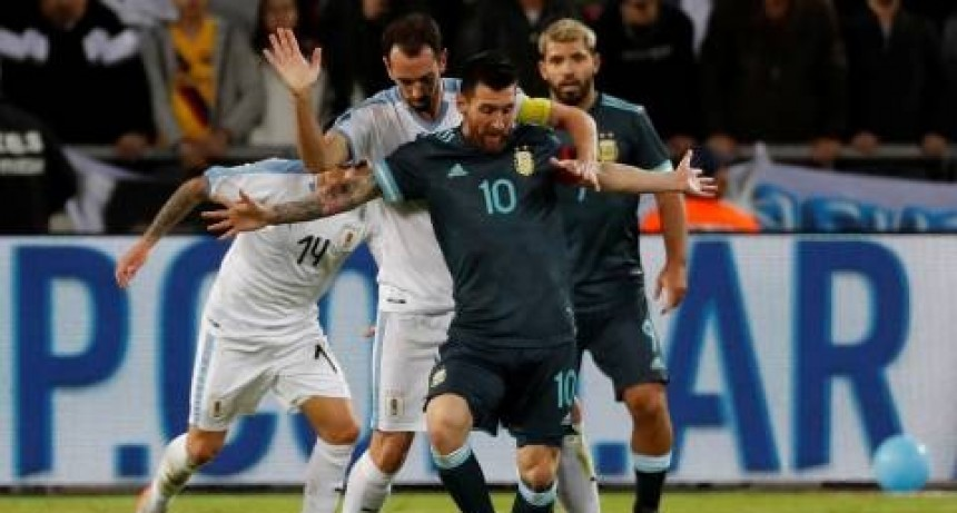 Argentina empató en un amistoso frente a Uruguay