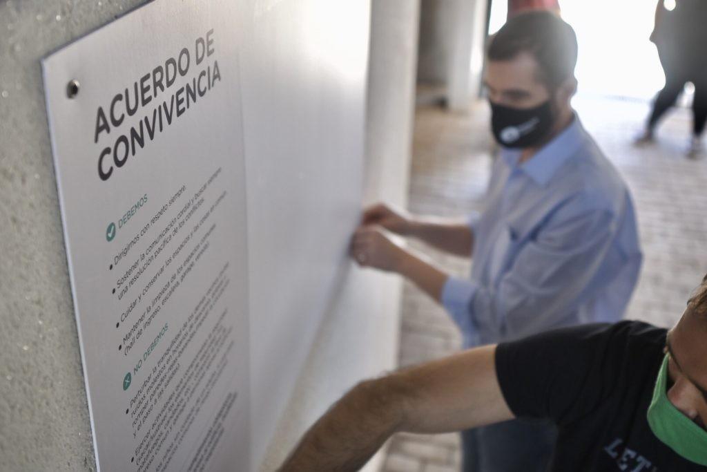 Vecinos de barrio Barranquitas firmaron un acuerdo de convivencia