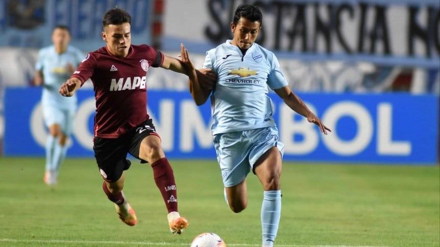 Lanús perdió ante Bolívar pero sigue con vida en la Copa Sudamericana
